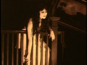 Theda Bara - A Fool There Was Triumph on the Stairs
